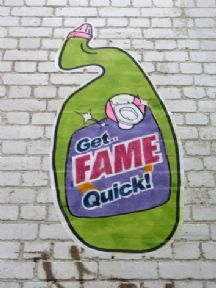 Get Fame Quick, advertisement poster